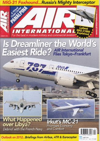AIR International vol.82 .nr.3 / 2012 /