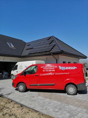 Instalacja 5,4kw dach skośny z montażem Longi Sofar Podlaskie War-maz