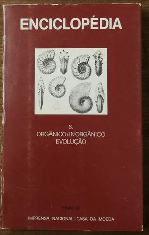 enciclopédia, orgânico/inorgânico evolução, casa da moeda