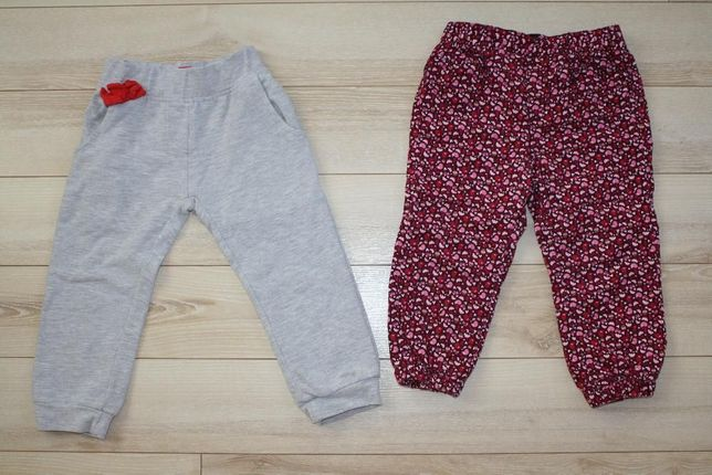 Spodnie/dresowe rozm.92 H&M i 5.10.15
