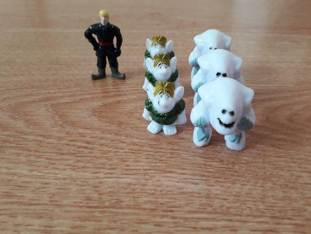 Kraina lodu Frozen figurki Riviva z soczków z Biedronki