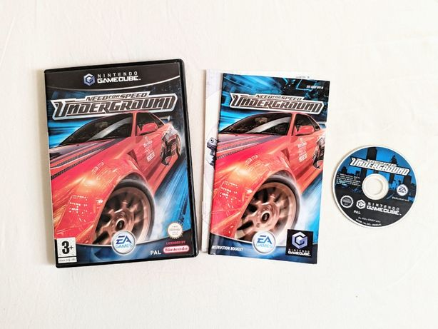 Need for Speed Underground - Nintedno Gamecube, gra game cube