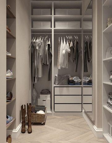Szafy, garderoby, zabudowy wnęk, meble na wymiar