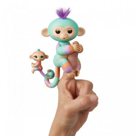 Интерактивная ручная обезьянка WowWee Fingerlings. Доставка 0.