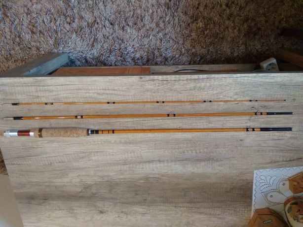 Wędka muchowa klejonka firmy Montague Bamboo Fly Rods