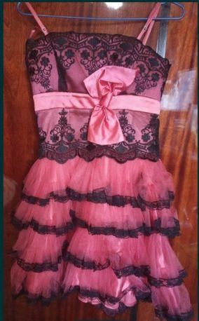 Платье нарядное размер 38 б/у