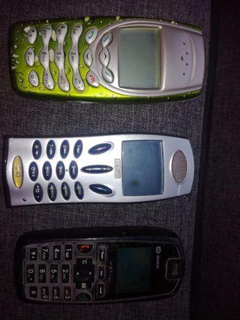 Telefony uszkodzone.