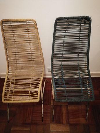 Par de cadeiras vintage