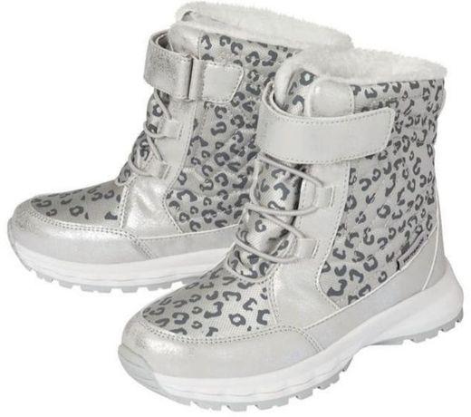 Термо ботинки девочке