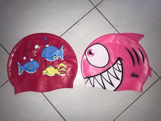 Шапка для плавания детская