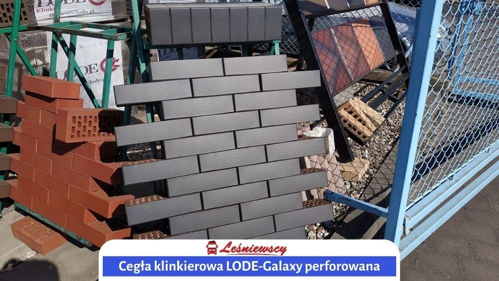 Cegła klinkierowa na komin/elewacje LODE-Galaxy CIEMNA Wysyłka kurier!