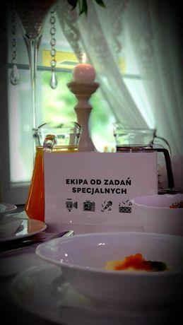 Ramka na stół weselny
