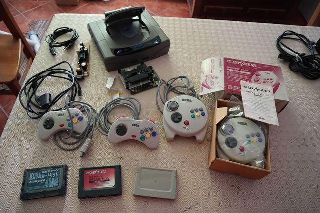 Coleção Sega Saturn