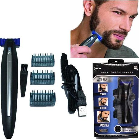 Триммер - бритва для мужчин micro touch solo, для стрижки бороды
