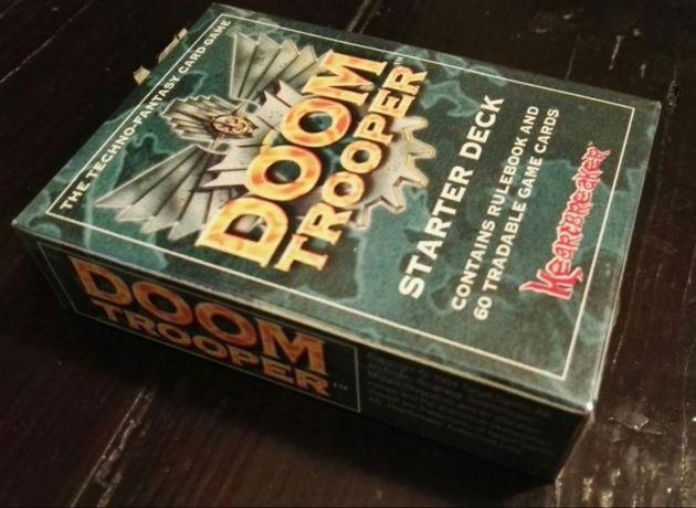 Doomtrooper/DOOM Trooper gra karciana Starter DECK kultowa karcianka