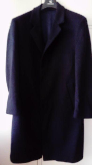 Granatowy norweski męski płaszcz Ciechanów - image 1