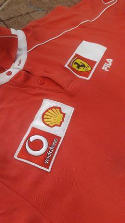 Футболка Ferrari Италия Оригинал