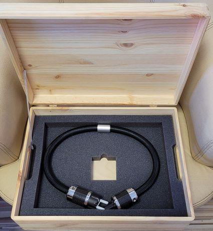 Przewód zasilania Hi End 0,7 m audiofilski