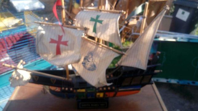 Galeon statek Santa Maria 1492