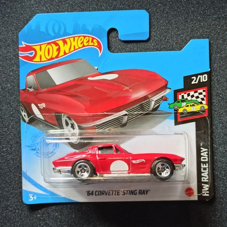 Corvette Stingray Hot Wheels resorak