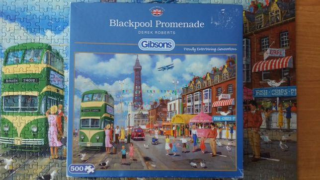 Puzzle Gibsons 500, 1000