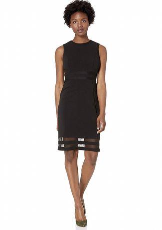 Платье сукня новое летнее Calvin Klein guess lacoste черное xs s 2