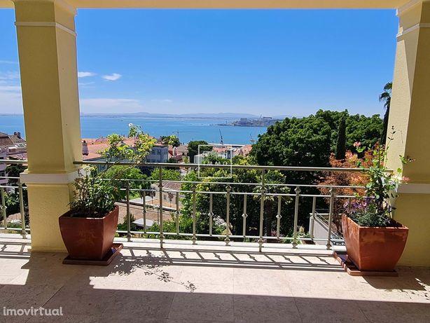 Apartamento, 380m2, 5 quartos, terraço, vista, estacionamento, Lapa