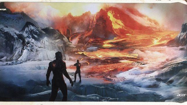 Ігрова поверхня Predator Mat XXL Magma Battle