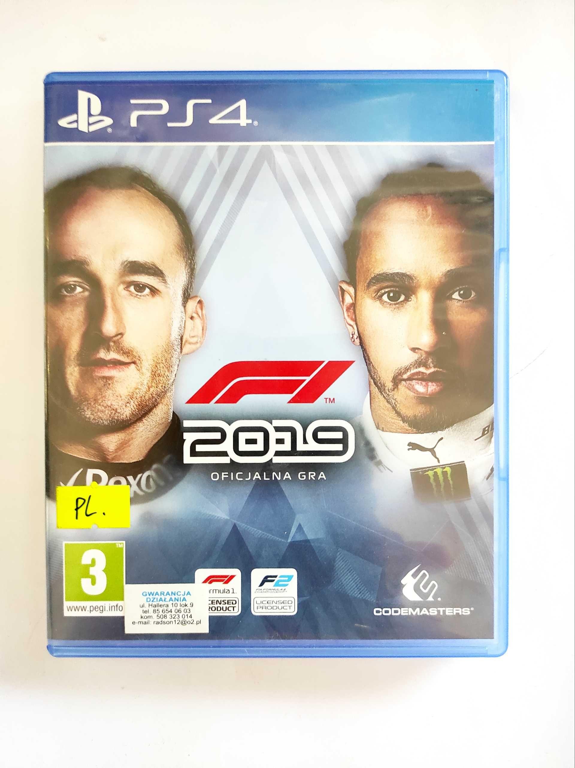 F1 2019 PS4      .