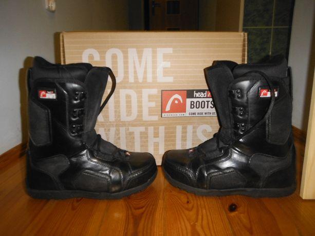Buty snowboardowe Head rozm. 42 wkładka 270 mm.