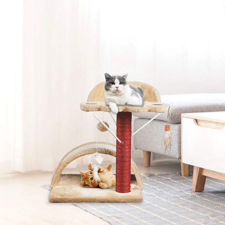 Drapak NOWY dla kota z wiszącymi zabawkami