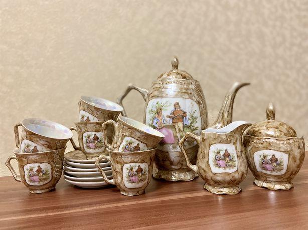 Чайный сервиз порцеляна сделано в Польше набор посуды