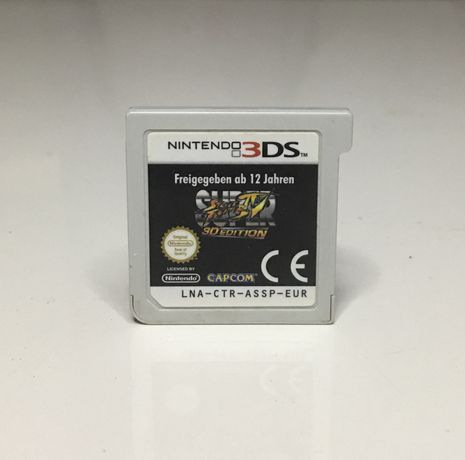 Super Street Fighter IV 3D Edition Nintendo 3DS