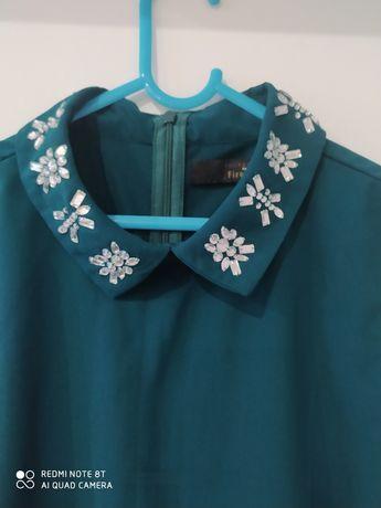 Sukienka Firetrap butelkowa zielen S wesele komunia