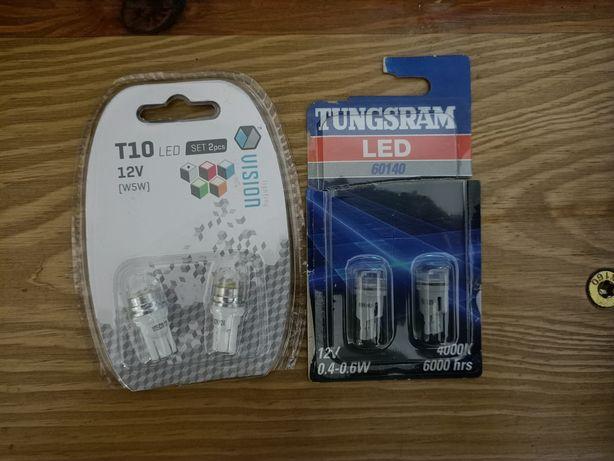 Żarówki typu w5w led Tungsram Vision