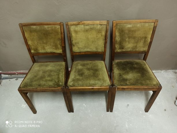 Stare krzesła 3 szt.