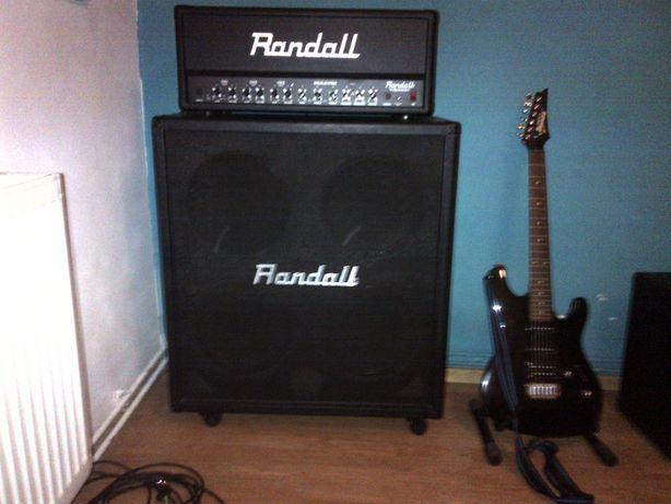 Wzmacniacz Head gitarowy+Kolumna 4x12 Randall RG 3003H/Randall RS412