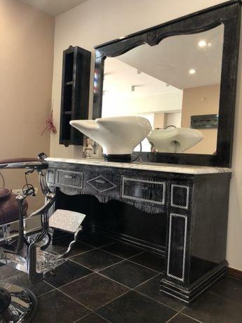 Mobiliario barbeiro por medida e designer outlet