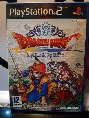 Dragon Quest playstation 2 espanhol