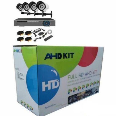 Акция!!! AHD KIT ( FullHD комплект на 4 камеры для видеонаблюдения)