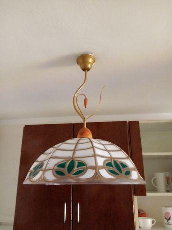 Lampa wisząca, kuchenna, plastikowa