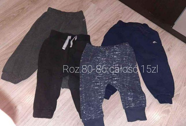 Spodnie chłopięce roz.80-86