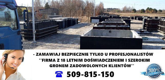 Szambo zbiornik szamba pojemnik komora zbiorniki komory Kępa Zawada