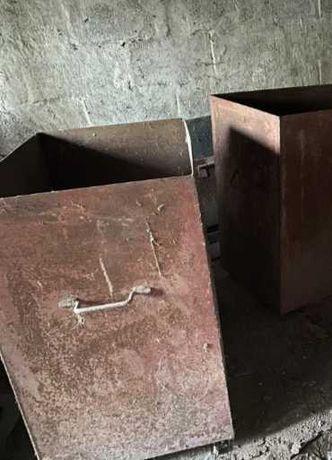 Продам бак металлический для зерна