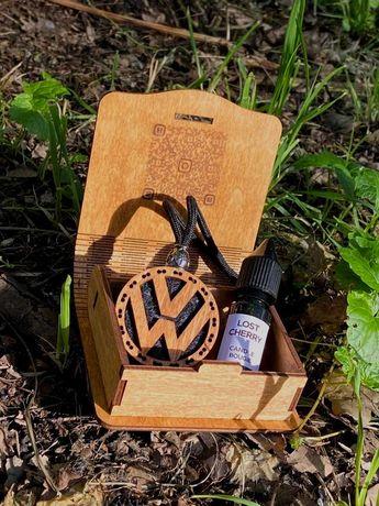 Деревянный ароматизатор ручной работы в авто, авто парфюм