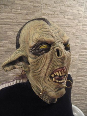 Ork Moria, maska lateksowa