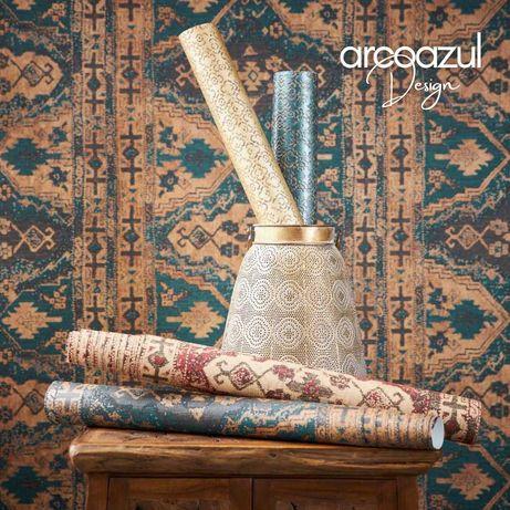 Papel de Parede Marrakesh - Rolo 0.53x10.5m By Arcoazul Design