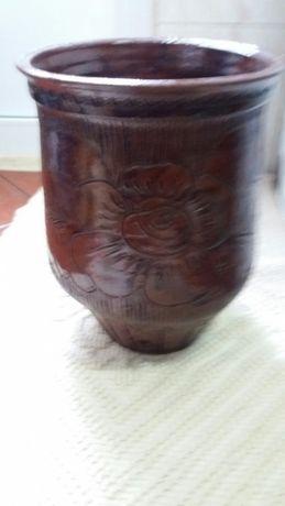 vaso vidrado