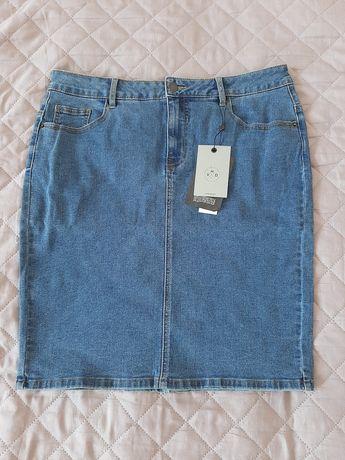 Klasyczna spódniczka jeansowa Vero Moda XL