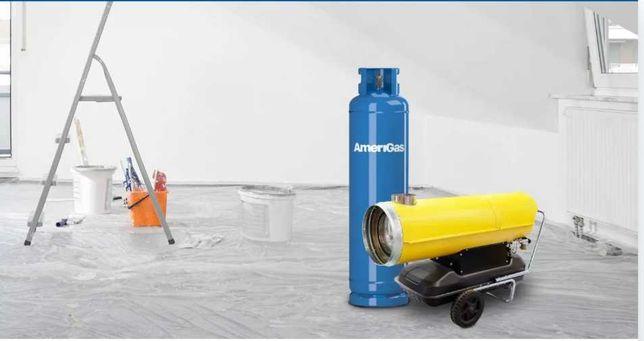 Nagrzewnica gazowa, gaz, propan, nagrzewnica, Hanex, butla 33kg,
